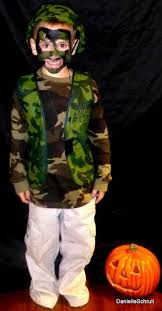 Boys Army Halloween Costume Army Costume