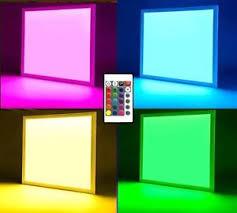colour changing led ceiling lights rgb colour changing led ceiling hanging surface mount panel light
