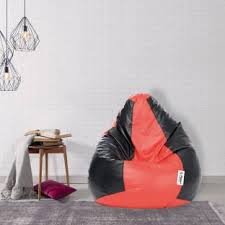 Red Leather Bean Bag Chair Flipkart Com Buy Bean Bags Online At Best Prices In India