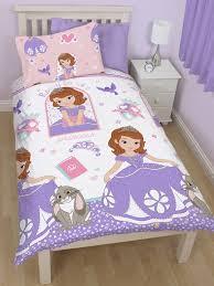 chambre princesse sofia princesse sofia housse de couette parure de lit 135 x 200 cm