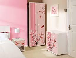 Teen Girls White Bedroom Furniture Sets Pink Floral Design Childrens Kids White Bedroom Furniture Sets