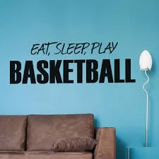 popular boys bedroom wall stickers quotes buy cheap boys bedroom eat sleep play basterball english quotes wall stickers kids room decal living room bedroom boys