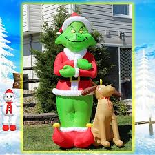 christmas inflatables outside inflatables outside christmas decorations