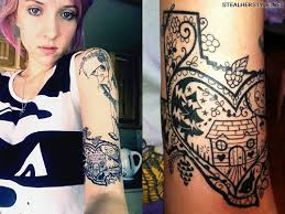 celebrity tattoos by alice kendall steal her style
