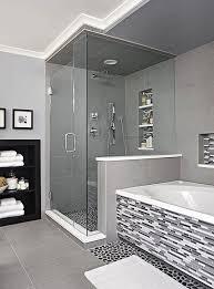 grey tiled bathroom ideas light grey tiles bathroom colour scheme with shower space with glass