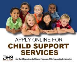 child support services maryland department of human resources