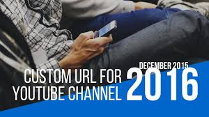 How To Get A Vanity Number How To Get A Custom Url For Youtube Channel 2017 Youtube