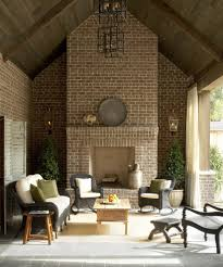 wonderful brick patio designs with indoor outdoor fireplace sconce