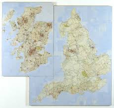 Map Of The United Kingdom United Kingdom U0027 Layla Curtis 1999 Tate