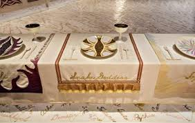 judy chicago dinner table brooklyn museum