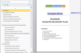 bduk 02 disaster recovery plan cover contents 01