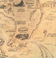 Map Middle Earth Map Of Middle Earth From Lord Of The Rings Aesthetic Pinterest