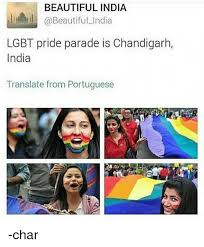 Lgbt Meme - beautiful india lgbt pride parade is chandigarh india translate from