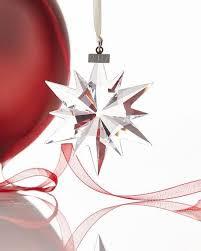 Swarovski Christmas Ornaments Previous Years by Swarovski 2017 Annual Edition Star Ornament