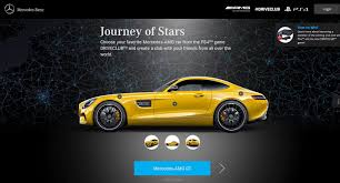 mercedes amg and driveclub journey of stars youtube