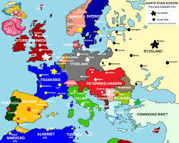 Europe Map During Ww1 Drawned Map Of Europe 1914 By Ericvonschweetz On Deviantart