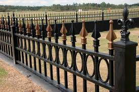 ornamental iron allied fence
