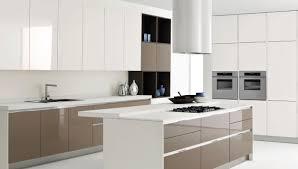kitchen beautiful white yellow wood glass stainless cool design