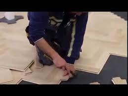 how to install herringbone flooring floating