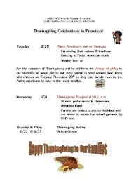 preschool thanksgiving program agbu manoogian demirdjian school