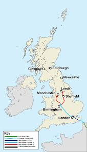 York England Map by Hs2 Confirms Sheffield Station Set To Shift To City Centre News