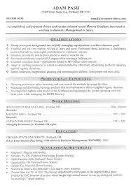 Mba Finance Experience Resume Samples by Download Mba Resume Template Haadyaooverbayresort Com
