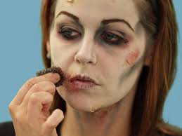 how to do halloween makeup halloween makeup tutorial zombie hgtv