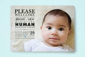 birth announcements mini human birth announcements geekink design minted birth