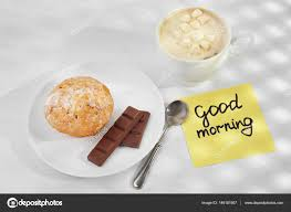 phrase cuisine note with phrase morning stock photo belchonock 146181907