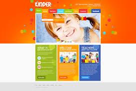 kids u0026 children psd templates templatemonster