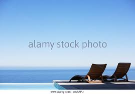 two deck chairs pool stock photos u0026 two deck chairs pool stock