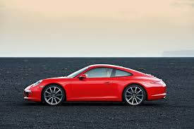 red porsche 911 2012 red porsche 911 carrera coupe side eurocar news
