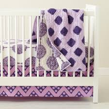 Purple Bedding For Cribs Modern Crib Bedding Popsugar