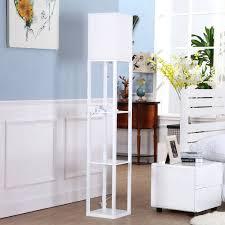 floor lamps floor lamp with shelves target floor lamp with