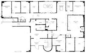 office furniture floor plan rough floor plans for office within