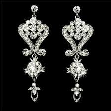 bridal chandelier earrings stunning swarovski bridal chandelier earrings we1031