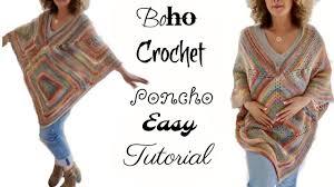 boho crochet annoo s crochet world fall boho crochet poncho 201