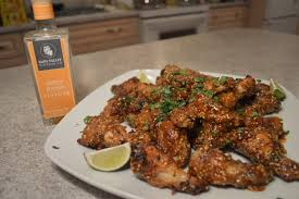 how to bake spicy mango thai chicken wings wine country kitchens