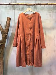 mori bouquet embroidered clothing linen loose summer dress