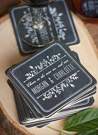 wedding coasters favors wedding favor inspiration temple square