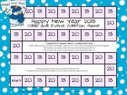 new year math games freebie fun games 4 learning