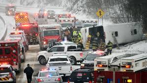 casino bound bus crashes in connecticut injuring 30 time