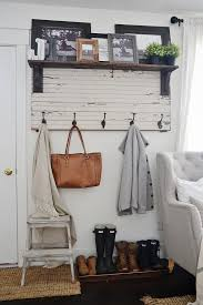 12 Fantastic Farmhouse Decor ideas 1 Rustic coat hanger hooks