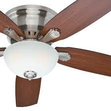 52 inch brushed nickel ceiling fan with brazilian