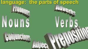 parts of speech lecture 1 a noun verb pronoun adjective