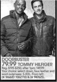 tommy hilfiger black friday black friday study 92 of 2013 black friday ads contain exact