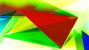 moving green and blue triangle patterns in kaleidoscope style