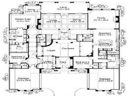 Courtyard Style House Plans by 27 Luxury Courtyard Home Plans Plan 36143tx Mediterranean With