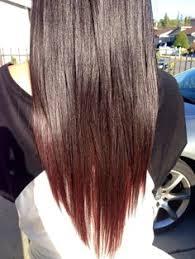 brown with red underneath hair burgundy underneath brown hair google search hair pinterest