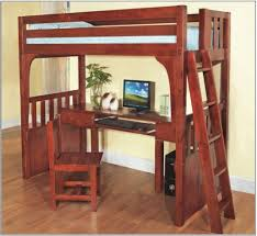 interior design 2015 as bedroom with wood computer desk feat